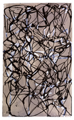 <I>(Hydra, Summer 1990) II</i> 1990 Ink and gouache on paper (Arches Satine) 14 x 8 1/2 inches; 35.5 x 21.5 cm