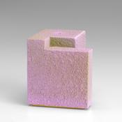 <I>Ailing Ginger</i> 2013 Ceramic, gold lustre, catalyzed polyurethane, epoxy resin 3 1/8 x 2 7/8 x 3 inches; 8 x 7 x 8 cm
