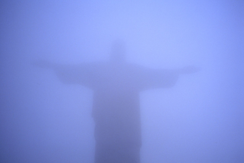 Nan Goldin&#039;s &lt;i&gt;Jesus in the Fog, Rio&lt;/I&gt;, 1997 in ArtInfo interview, &quot;Most of the Art World Wants Me to Commit Suicide.&quot; Read the interview &lt;a href=&quot;http://www.artinfo.com/news/story/37964/most-of-the-art-world-wants-me-to-commit-suicide-photographer-nan-goldin-on-her-new-work-and-the-imposition-of-being-a-living-artist/?page=1&quot;&gt;here.&lt;http://www.artinfo.com/news/story/37964/most-of-the-art-world-wants-me-to-commit-suicide-photographer-nan-goldin-on-her-new-work-and-the-imposition-of-being-a-living-artist/?page=1&gt; &lt;/a&gt;