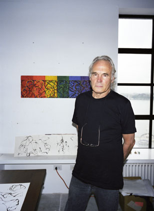 Brice Marden, photographed by Shawn Mortensen.