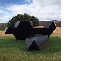 Tony Smith's <i>Source</i> at Storm King Art Center