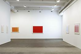 Installation view of <i>Anne Truitt: Drawings</i> 523 W 24 Street