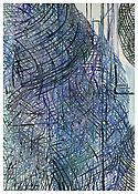 <I>Contours</i> 1999 Oil on linen 100 3/8 x 70 7/8 inches; 255 x 180 cm