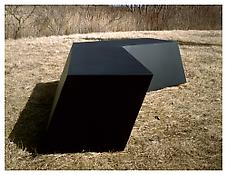 <i>For M.S.</i> 1969 Welded bronze, black patina 33 x 162 x 80 inches; 84 x 412 x 203 cm