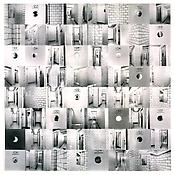 <i>Her, Her, Her, and Her (2) </i> 2002 64 black and white photographs printed on paper coated with light-sensitive emulsion Each: 12 x 12 inches; 31 x 31 cm Overall: 96 x 96 inches; 244 x 244 cm