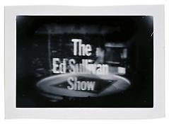 <i>The Ed Sullivan Show</i> c. 1965 Vintage silver print 4 3/4 x 7 inches; 12 x 18 cm