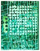 <i>Untitled (Green)</i> 2003 Oil on linen 77 x 59 1/2 inches; 196 x 151 cm