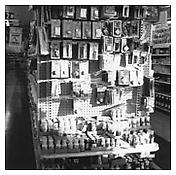Robert Adams <i>Supermarket, Denver</i> 1973  Gelatin-silver print Image: 6 x 6 inches; 15 x 15 cm Sheet: 14 x 11 inches; 36 x 28 cm