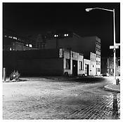 <i>Leroy Street</i> 1976 Gelatin-silver print 14 1/2 x 14 5/8 inches; 37 x 37 cm