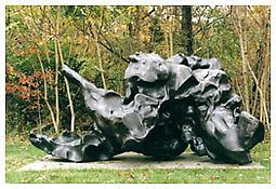 """<i>Reclining Figure</i> 1969-82 Bronze 5'7"""" x 10'10"""" x 8'"""
