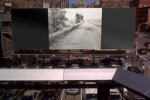 Robert Adams and Darren Almond on the High Line