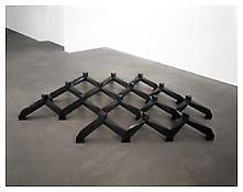<i>Smog</i> 1969-70 Cast bronze with black patina 12 x 113 x 79 inches; 31 x 287 x 201 cm