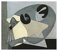 <i>Untitled (Woman at Table)</i> 1934 Oil on canvas 35 x 40 inches