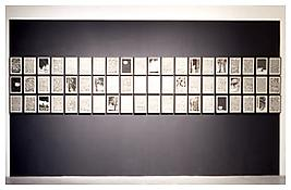 <i>1999</i>  1998/2000 Ink on paper 60 parts: 11 5/8 x 8 1/4 inches 30 x 21 cm (each)