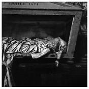 <i>Palermo Catacombs 4</i> 1963 Gelatin-silver print 14 1/2 x 14 5/8 inches; 37 x 37 cm