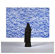 <i> St. Katharina & 2nd Photo (Ivy)</i> 2007 Polyester, paint, oil based ink, acrylic on plastic panel Dimensions variable