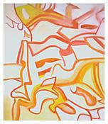 <i> Untitled </i> 1987 Oil on canvas 88 x 77 inches; 224 x 196 cm