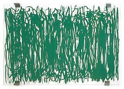 <i>Panorama (Resonance)</i> 1999 Silkscreen on plexiglas with metal brackets 57 1/2 x 91 1/2 inches 146 x 232 cm
