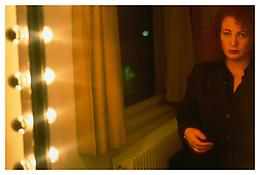 <i>Self-portrait in hotel room, Baur au Lac, Zurich</i> 1998 Cibachrome 30 x 40 inches; 76 x 102 cm
