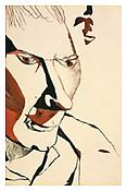 <i>Stephen Spender</i> 1940 Ink on paper 8 1/2 x 5 3/4 inches 22 x 15 cm