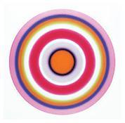 <i>No. 172  ACHTZEHNTERJANUARZWEITAUSENDUNDNULL</i> 2000 acrylic on canvas 106 1/4 inches (diameter)