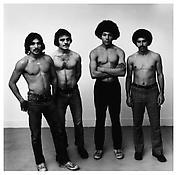 <i>Felix, Clyde, Ronnie, Manny</i> 1975 Gelatin-silver print 14 1/2 x 14 3/4 inches; 37 x 38 cm