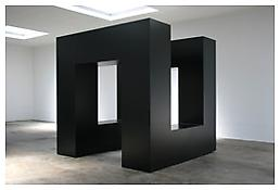 <i>We Lost</i> 1962 Steel, painted black 128 x 128 x 128 inches; 325 x 325 x 325 cm View 2
