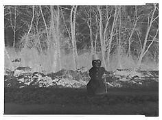 Martin Honert <i>Schneemann (Snowman)</i> 2009 Transparency in lightbox 19 1/4 x 26 inches; 49 x 66 cm