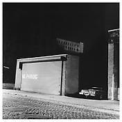 <i>No Parking</i> 1976 Gelatin-silver print 14 1/2 x 14 5/8 inches; 37 x 37 cm