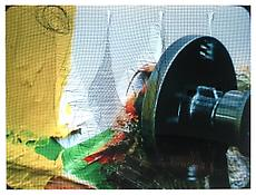 Hans Brändli / Pia Fries <i>Operator I</i> 2000-2003 Laserchrome print mounted to Plexiglas 30 x 40 inches / 77 x 103 cm