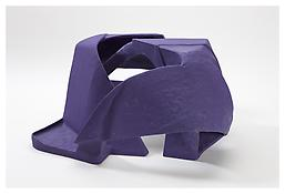 <i>Untitled</i> 2008 Papier-mâché, acrylic paint 15 1/4 x 27 1/2 x 25 inches; 39 x 70 x 64 cm View 2