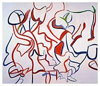 <i>Untitled</i> 1987 Oil on canvas 80 x 70 inches; 203 x 178 cm