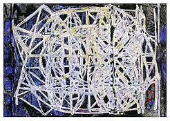 <i>Graphic Primitives, 7</i> 1998 Oil and alkyd resin on linen 75 x 108 inches; 191 x 274 cm