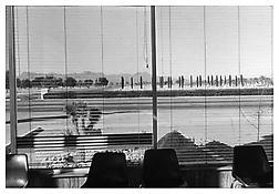 Henry Wessel <i>Tucson, Arizona</i> 1976/c.1981 Gelatin silver print 14 x 17 inches; 36 x 43 cm