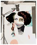 Richard Hamilton <i>Fashion-Plate</i> 1974 Collotype in colour 39 1/8 x 27 1/8 inches; 100 x 69 cm