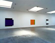 Installation view of <i>Ellsworth Kelly: Recent Painting and Sculpture</i> 522 W 22 Street