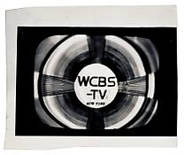 <i>WCBS-TV New York</i> c. 1965 Vintage silver print 4 3/4 x 6 7/8 inches; 12 x 18 cm