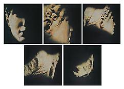 <i>Domitilla</i> 1991 Portfolio of five Fresson color photographs Image: 11 7/8 x 11 inches; 30 x 28 cm
