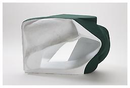 <i>Untitled</i> 2008 Papier-mâché, acrylic paint 19 3/4 x 28 1/2 x 19 inches; 50 x 72 x 48 cm View 1