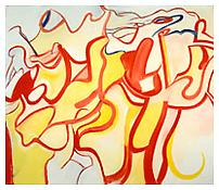 <i>Quality of a Piece of Paper</i> 1987 Oil on canvas 70 x 80 inches; 178 x 203 cm
