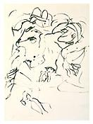 <i>Untitled (Spoleto)</i> 1969-70 Ink on paper 26 x 18 7/8 inches; 66 x 47.9 cm