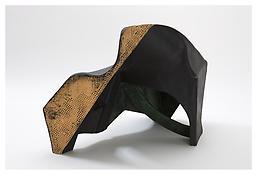 <i>Untitled</i> 2008 Papier-mâché, acrylic paint 20 1/4 x 22 x 21 1/2 inches; 51 x 56 x 55 cm View 2
