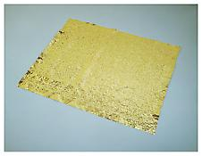 <i>Gold Mats, Paired - for Ross and Felix</i> 1995 Pure gold (99.99%) Each 49 x 60 x .0008 inches; 125 x 152 x 0.002 cm