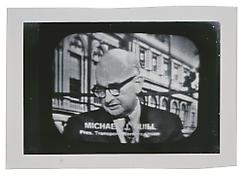 <i>Michael J. Quill</i> c. 1965 Vintage silver print 4 5/8 x 6 7/8 inches; 12 x 18 cm