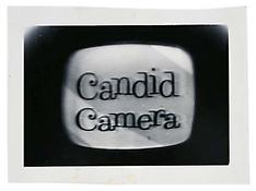 <i>Candid Camera</i> c. 1965 Vintage silver print 4 3/4 x 6 7/8 inches; 12 x 18 cm
