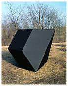 <i>For P.C.</i> 1969 Welded bronze, black patina 65 x 80 x 69 inches; 165 x 203 x 176 cm