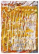 <i>Masts</i> 1999 Acrylic and oil on paper 30 1/4 x 22 1/2 inches; 77 x 57 cm