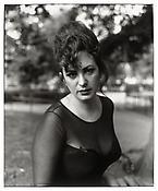 David Armstrong <i>Nan in Stuyvesant Park, NYC</i> 1991 Gelatin silver print 20 x 16 inches; 51 x 41 cm
