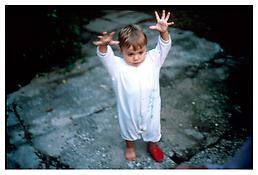 <i>Isabella as a ghost, St. Remy, France</i> 2002 Cibachrome 30 x 40 inches; 76 x 102 cm