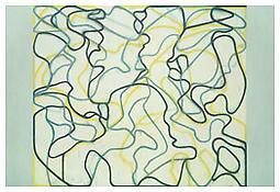 <i>Second Letter (Zen Spring)</i> 2006-2009 Oil on linen 96 x 144 inches; 244 x 366 cm